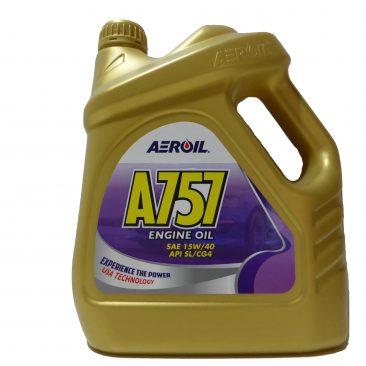 A757 – SAE 15W-40 (API SL/CG-4) – 4 Litres