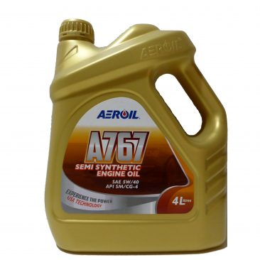 A767 – SAE 5W/40 (API SM/CG-4)